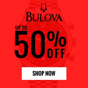 bulova watch sale