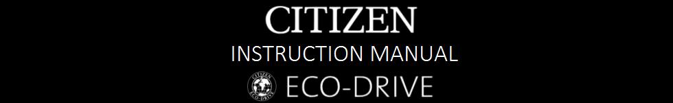 Citizen Watch Guides