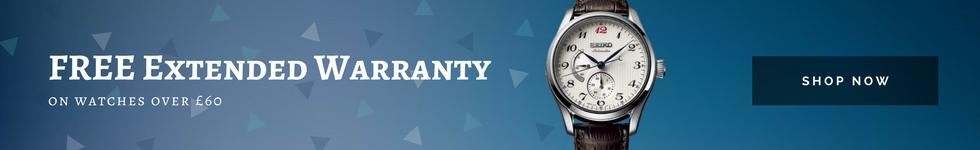 Free extended warranty WatchO