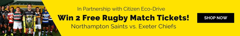 Win 2 Free Rugby Match Tickets