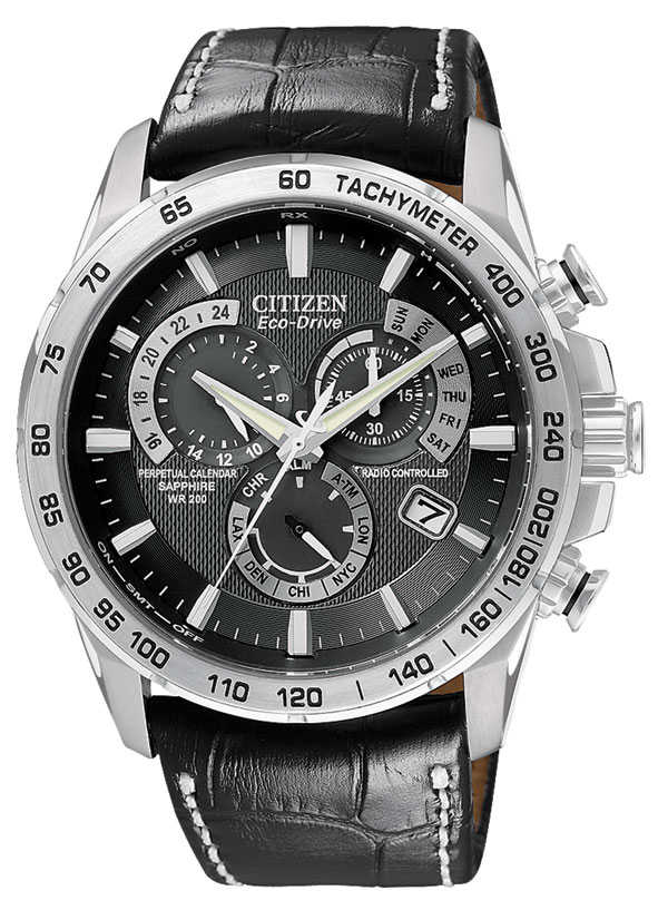Watch Review - Citizen Men's Eco-Drive Chronograph Watch AT4000-02E Review