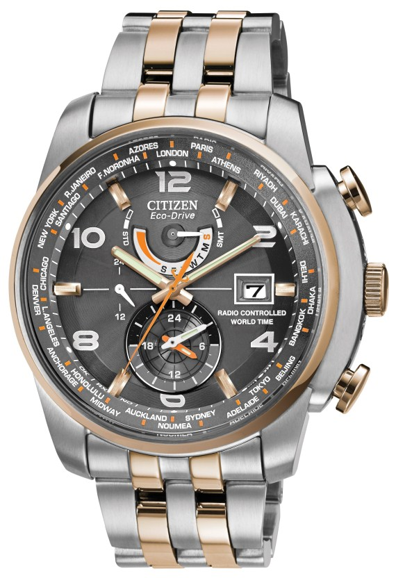 Watch Review - Citizen AT9016-56H Radio Controlled Eco-Drive Watch