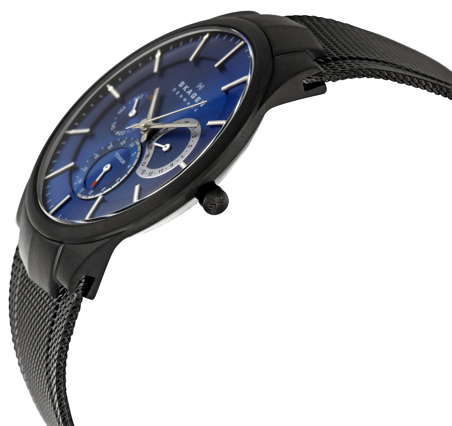 Watch Review - Skagen 809XLTBN Aktiv Titanium Blue Dial Watch