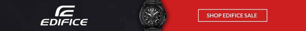 Edifice Watches On Sale