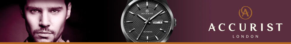 Accurist men's watches at WatchO