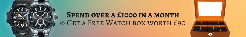 Free gift on purchases over £1000