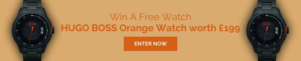 Win a HUGO BOSS Orange Watch